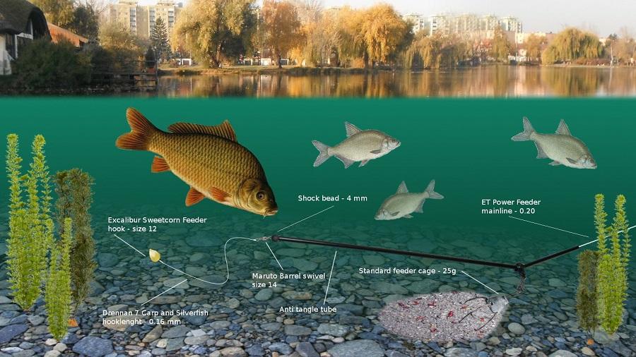 прикормка для рыб подсекайка